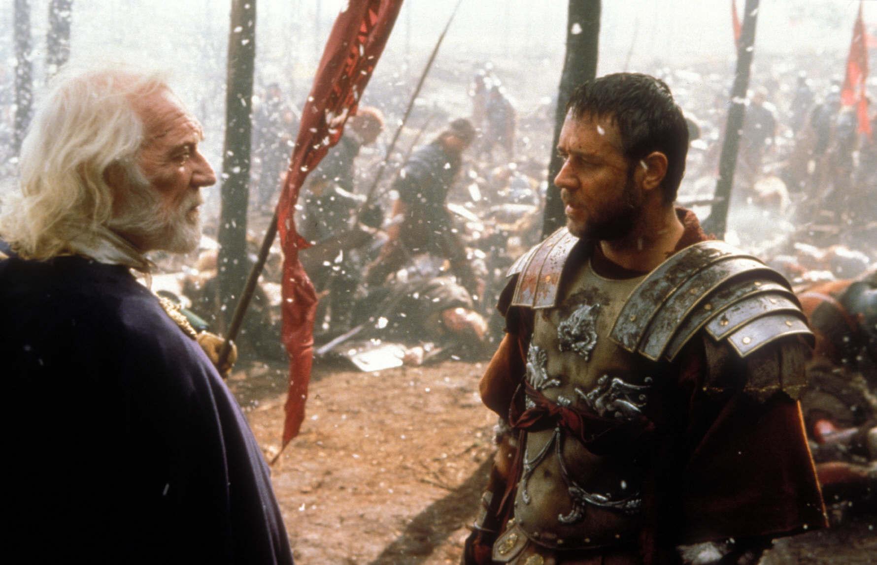 gladiator essay film